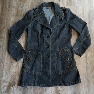 Bisou Bisou Michele Bohbot size M denim jacket